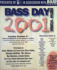 Bass Day 2001