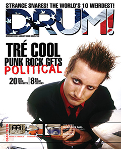 Drum Jan 2005 Tre Cool