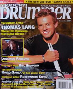 Modern Drummer MD 2004 Thomas Lang