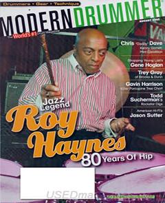 Modern Drummer August 2005 Roy Haynes