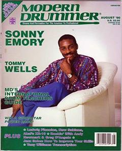 Modern Drummer August 1990 Sonny Emory