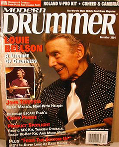 Modern Drummer December 2004 Louie Bellson