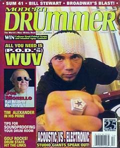 Modern Drummer December 2002 P.O.D.