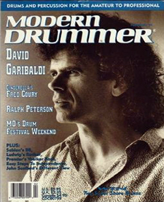 Modern Drummer February 1991 David Garibaldi