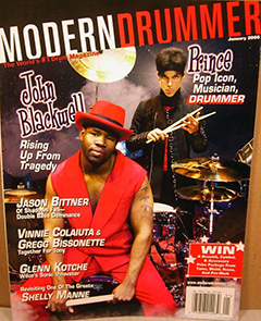 Modern Drummer January 2005 John Blackwell
