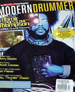 Modern Drummer March 2005 ?uestlove
