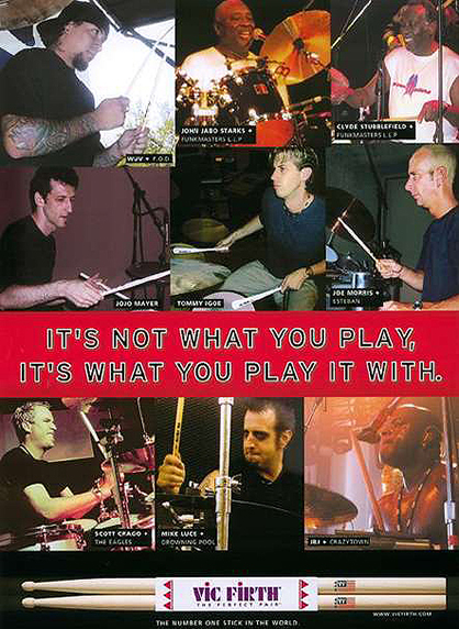 Vic Firth Ad